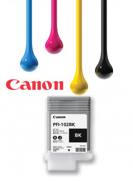 CANON PFI-102 YELLOW WIDE FORMAT INK