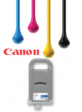 CANON IPF8300 RED WIDE FORMAT INK