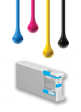 EPSON GS2 CYAN WIDE FORMAT INK 700ML