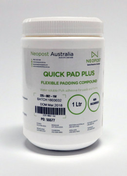 Quadient QUICK PAD PLUS ADHESIVE - 1LT