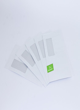 Quadient Envelopes  120 x 235 LicknStick/Barcode Window-Secretive (DLX) - 1000 per box